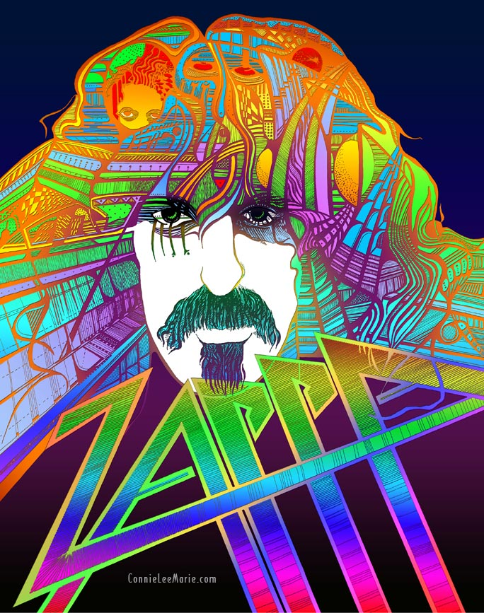 Zappa's Brain by Connie Lee Marie Fisher