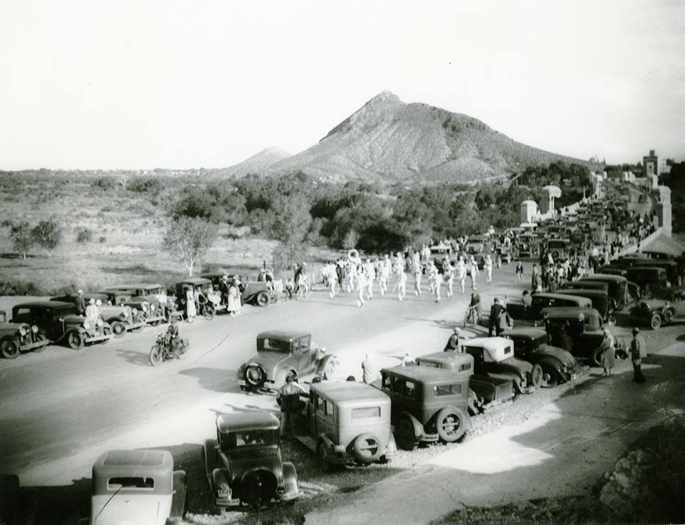 1933 - Mill Avenue Bridge Grand Opening, Tempe, AZ