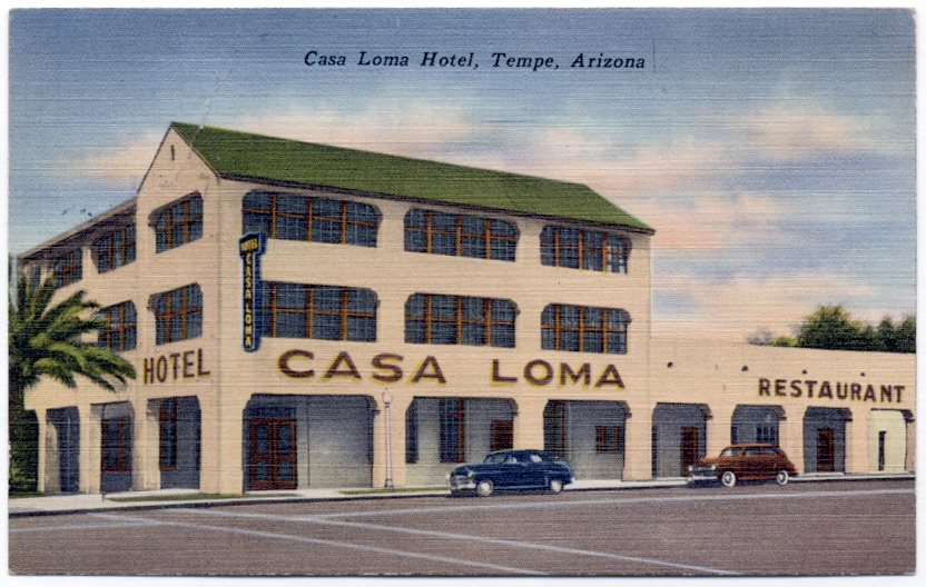 Casa Loma Building, built in 1899, 398 Mill Ave, Tempe, AZ
