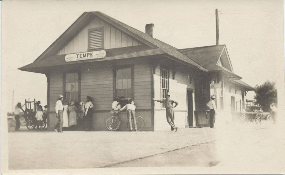 1905 - 2nd Street Train Depot, Tempe, AZ