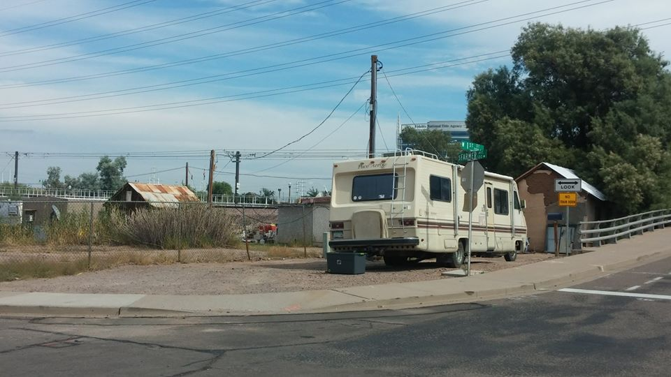 1980s - 1st and Farmer by the tracks in Tempe