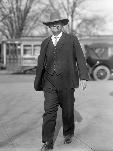 1916 - Carl Hayden, Rep. from Arizona 1912-1927, Senator 1927-1969 (lived 1877-1972)