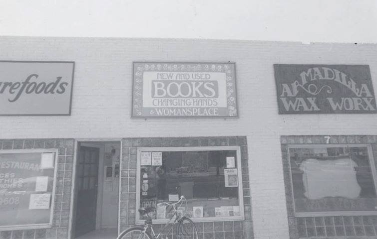 1975 - original location of Changing Hands Bookstore east of Mill Ave and 5th St, Tempe, AZ
