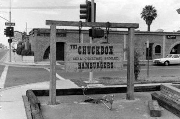 1972 - The Chuckbox, University and Forest - It's still there in 2018!  It's still there!!