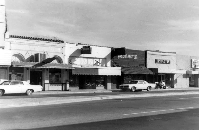 1970s - Mill Ave near East 4th Street in Tempe