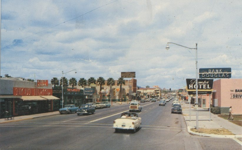 1960s - East 7th Str and Mill Ave, Tempe, AZ