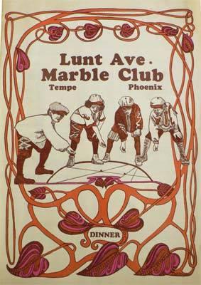 Lunt Ave Marble Club, NE corner of Apache & Terrace, Tempe, AZ
