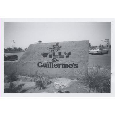 1970s - Willy & Guillermos' on the NW corner of Apache and Terrace, Tempe, AZ