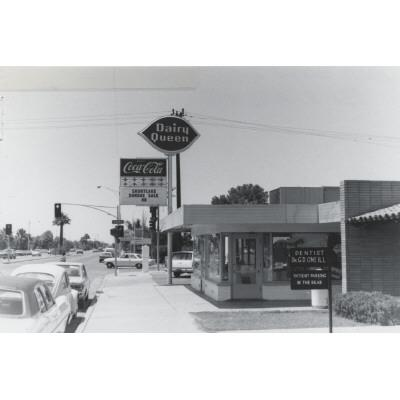 1970s - Dairy Queen on west side of Mill Ave, south of University