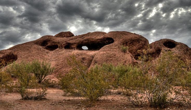 Hole in the Rock, Papago Park, Phoenix, AZ