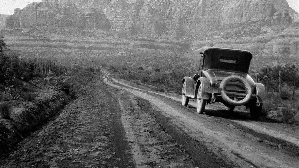 1926 the road to Sedona