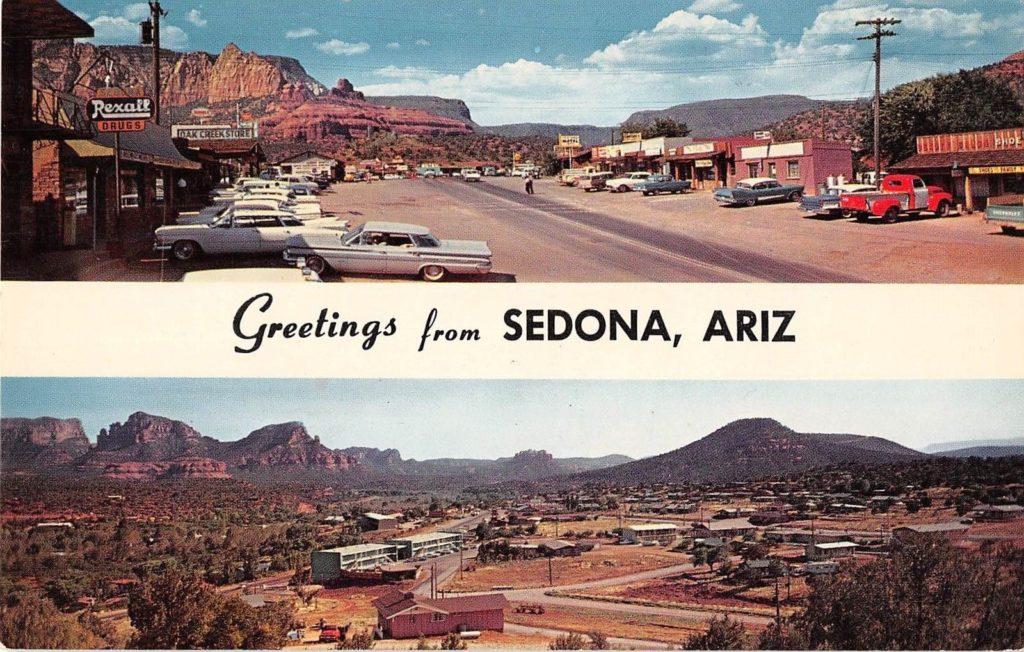 Sedona circa 1960s